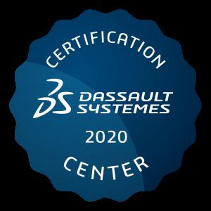 Dassault Systèmes Certification Center Logo