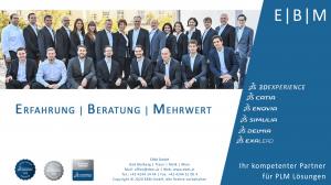 Deckblatt EBM Firmen-Broschüre
