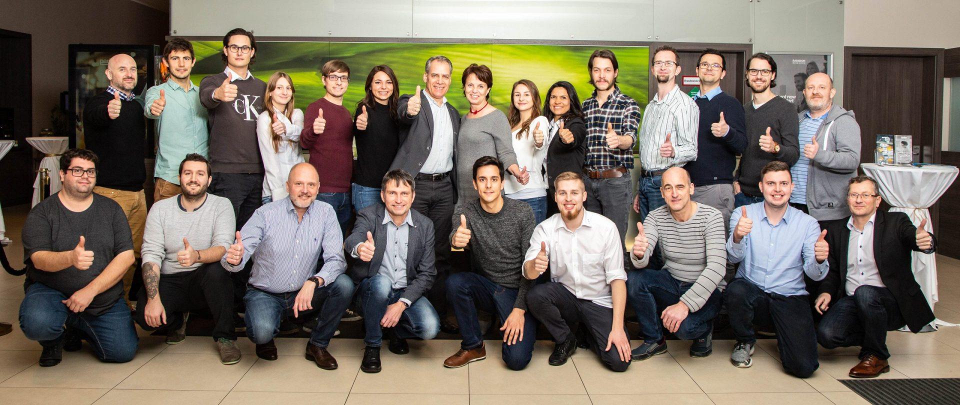 EBM Team beim Kick Off 2020