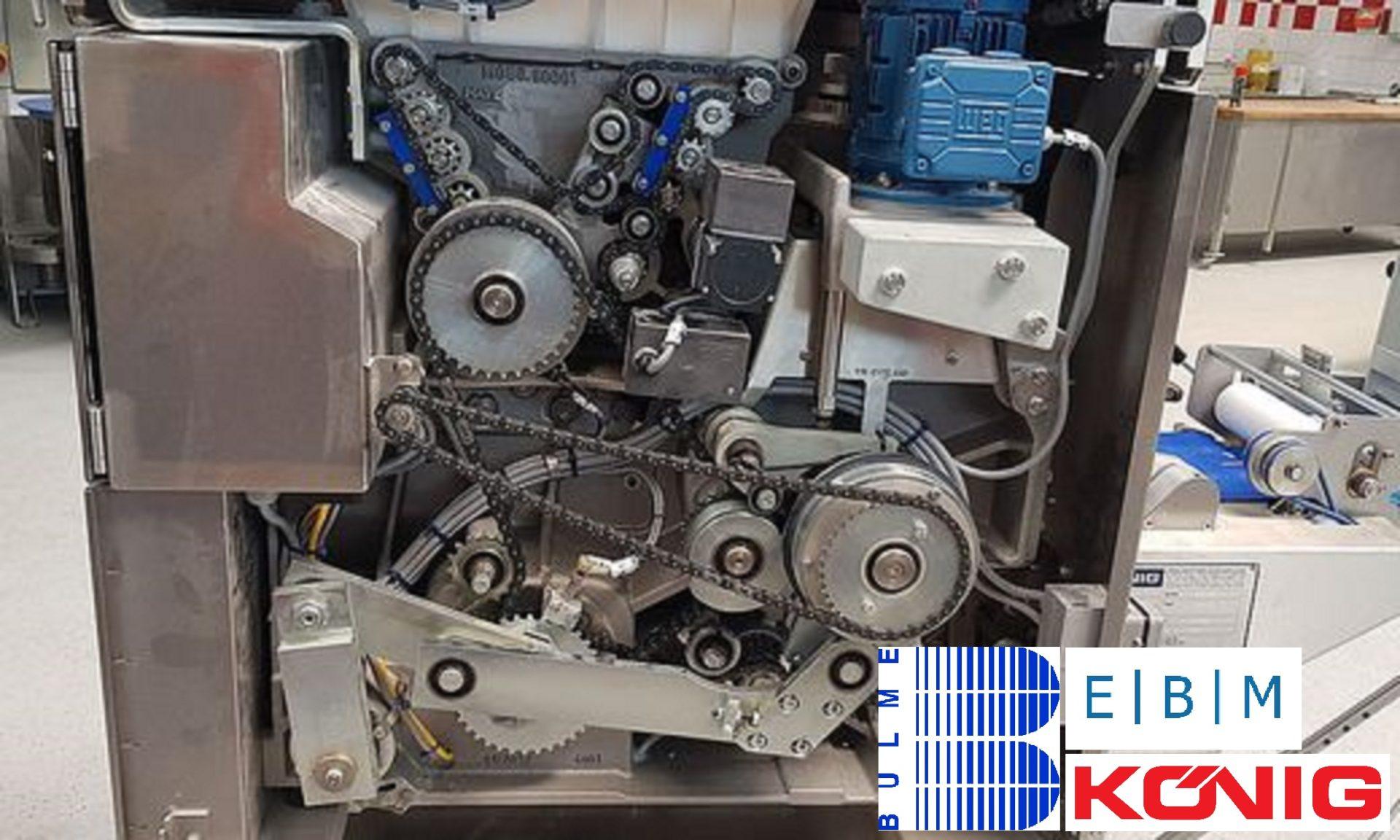 Teigteil- und Wirkmaschine der Firma König Maschinen GmbH