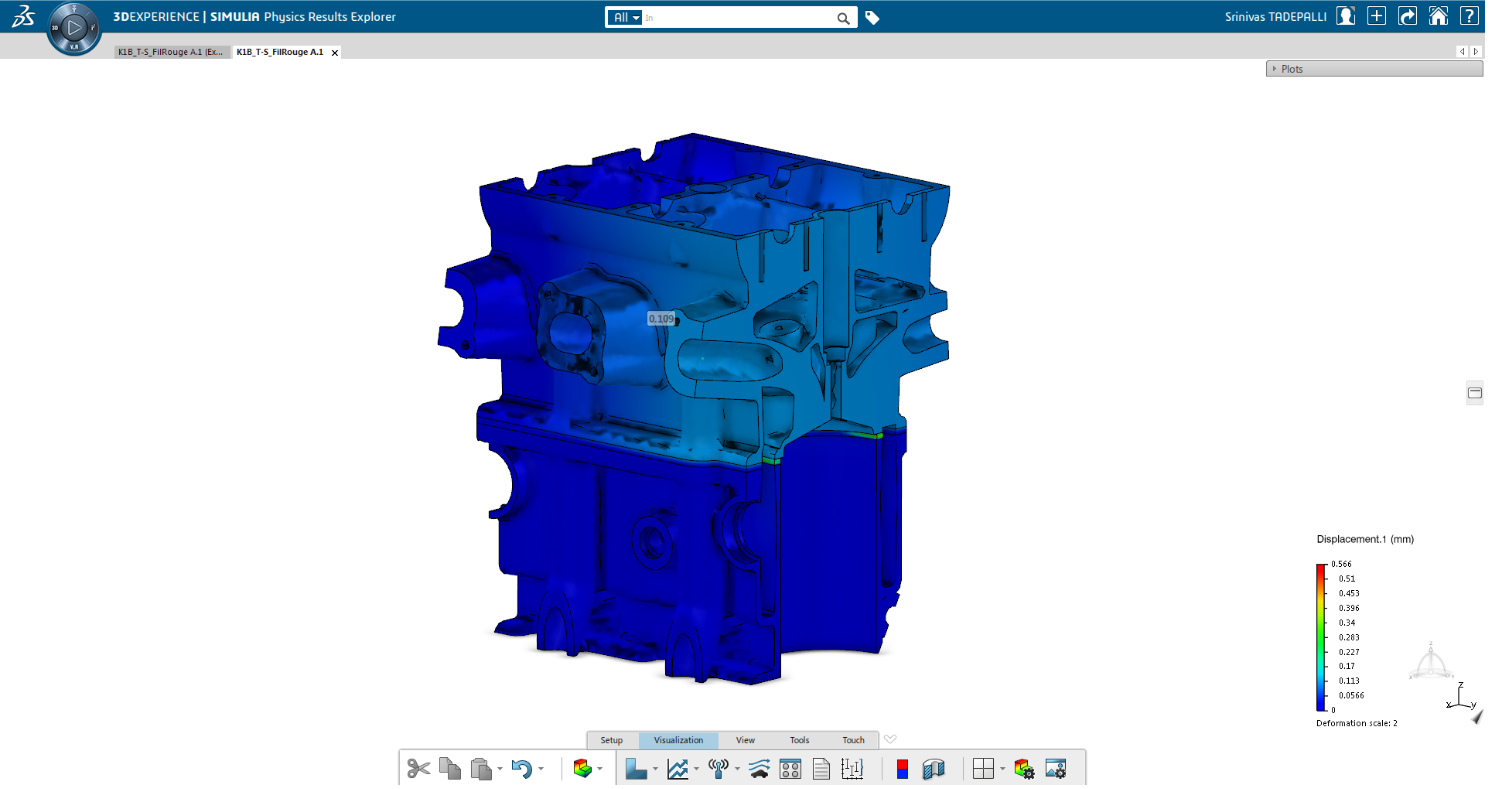 3DEXPERIENCE SIMULIA Rolle Mechanical Analyst