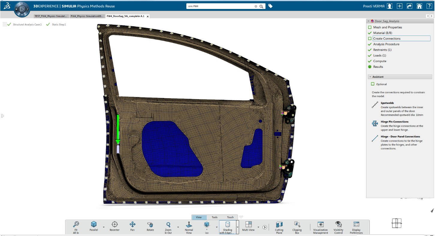 3DEXPERIENCE SIMULIA Rolle Structural Engineer